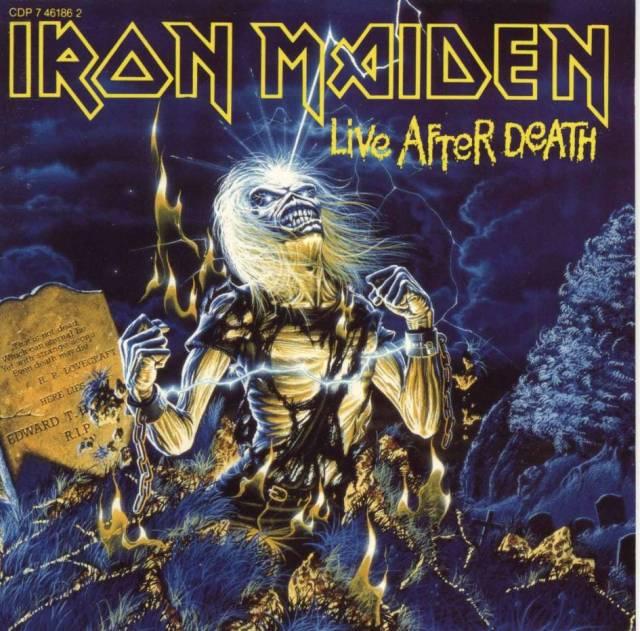 """Iron Maiden, Cover """"Live After Death"""" (foto: Derek Riggs/Iron Maiden/EMI)"""