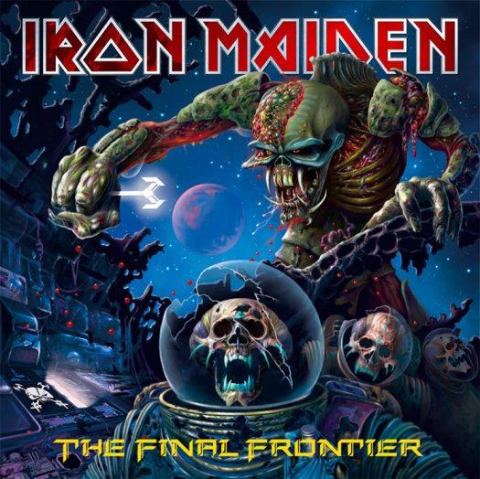 """The Final Frontier"", Covermotiv (Foto/Copyright: Iron Maiden/EMI)"